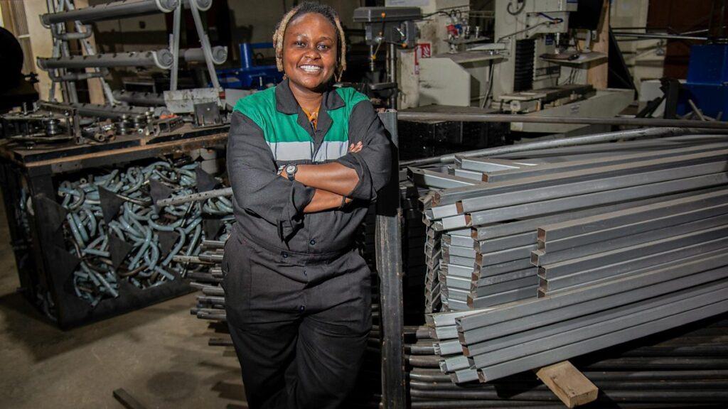 L'entrepreneure kenyane Nzambi Matee primée par l'ONU
